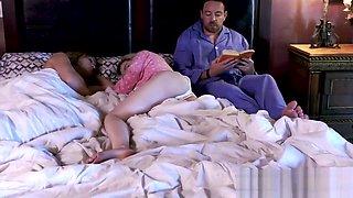 Sneaky step dad gropes his sleeping daughter