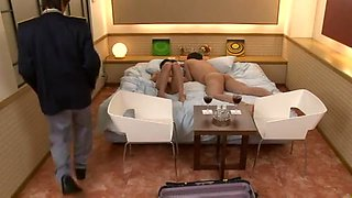 Chika Ishihara Uncensored Hardcore Video with Gangbang, Swallow scenes