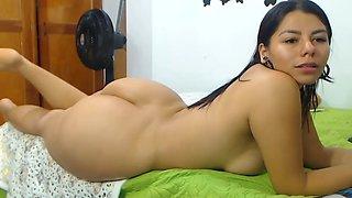 Latina with a beautiful azz
