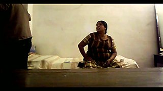 Really fat long haired Indian wife does her best as she sucks delicious dick