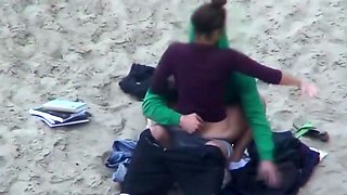 Cothed beach fun