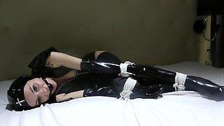 Bondage Diversity Rubber bondage trailer. C4S studio ID 94221