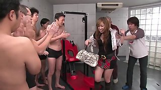 Crazy pornstar Arisa Suzuki in horny group sex, japanese sex video