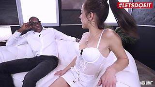 LETSDOEIT #Anastasia Brokelyn Hard BBC Pounding With Spanish Hot Babe