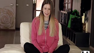 Stella Cox in brutal DP threesome with two BBCs