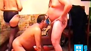 BISEXUAL PARTY AT HOME