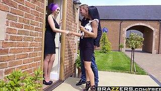 Brazzers   Real Wife Stories   Jasmine James Skyler Mckay Danny D and Keiran Lee   The Dinner Invitation