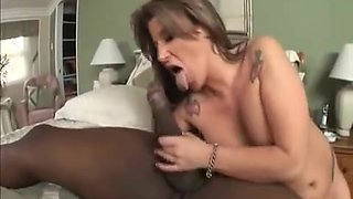 Sexy Mother I'd Like To Fuck Interracial Anal Creampie