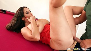 Ava Addams & Keiran Lee in Sinking Some Balls - BRAZZERS
