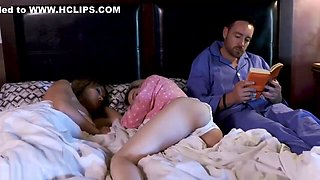 Hot Step Daughter Big Ass And Dad Fucking In Bedroom