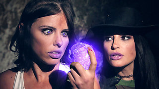 Playmate Cuties Adriana Chechik and Kissa Sins on a Magical Rainy Camping Trip