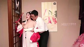Huge Tits on Asian Chinese Opera Star