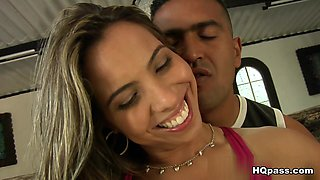 Exotic pornstar Tony Tigrao in Crazy Latina, Facial porn movie