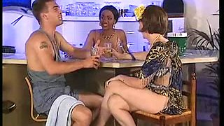Two slutty German broads in anal sex fun