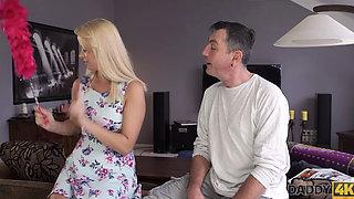 DADDY4K Dad wants to fuck angel Dream Nikki while her boyfriend