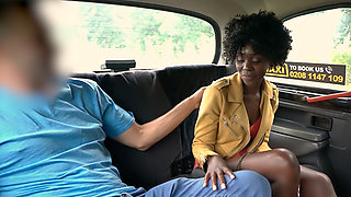Taxi Fuck for Ebony African Queen