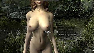 Skyrim Nude Dance