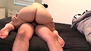 Sexy PAWG takes shower and twerks on dick! (crystal lust)
