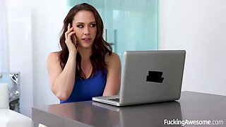 Black man likes when Chanel Preston gives him a call, because she needs a good fuck