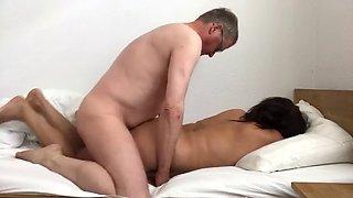 Boss turns mom into his slut