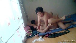 two korean couples homemade