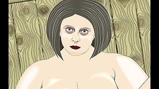 BBW Masturbate Animation