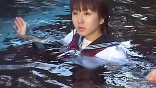 Japanese schoolgirl school uniforms picture book 02