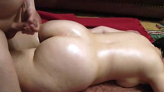 Cheating big ass wife fucked by neighbor