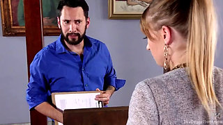 Serving the House: Babe Realtor Punish Fucked