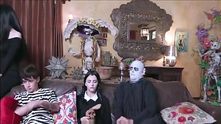 The Addams Family Orgy Film Parody Hot MILFs Edition