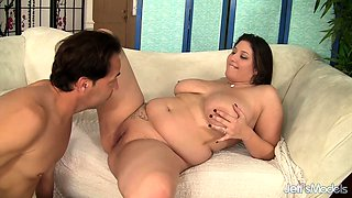 Plumper Angel DeLuca Boned After Footjob