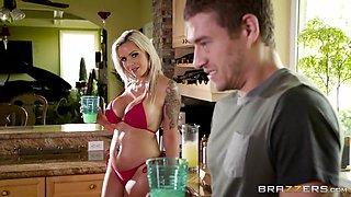 Brazzers - Nina Elle - Mommy Got Boobs