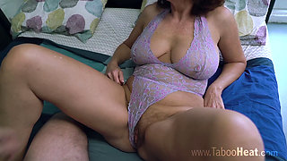 Andi James - Mommy receives a creampie