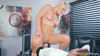 Kylie Page is a plump blonde who loves being fucked hardcore