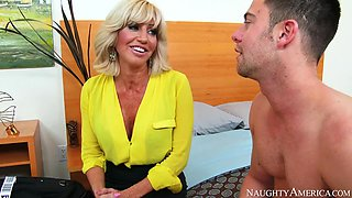 Tara Holiday & Seth Gamble in My Friends Hot Mom