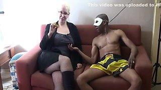 Granny hunting for Big Black Cock