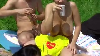 Czech nudists on my voyeur video