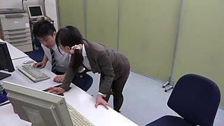 Pantyhose Miniskirt Secretary at Office 2of4 censored ctoan