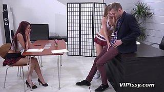 ViPissy - Alexis Crystal - Paula Shy - Back To School