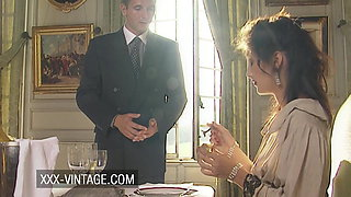 Lucky butler has affair with Coralie Trinh Thi