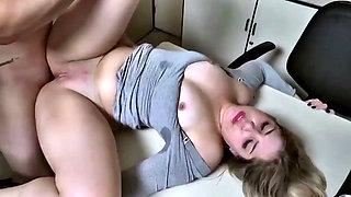 Nina Lins hot secretary