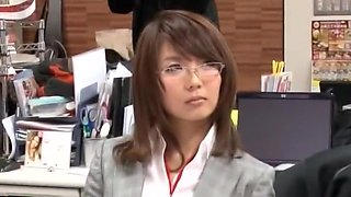 Fabulous Japanese chick in Incredible Dildos/Toys, Office JAV scene