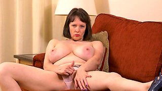 British housewife Tigger with big natural tits