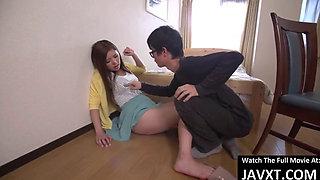 Beautiful Asian Teen Gangbang