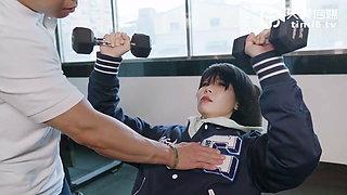 NO.2030 Chinese AV originals – Fitness coach fucks sexy cheating wife