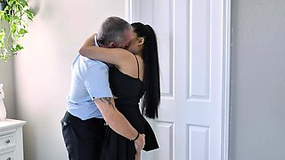 LittleAsians - asian daughter fucks daddys best friend