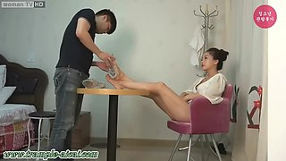 Korea foot worship