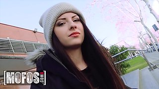 Italian Cutie Rides Dick At School - Rebecca Volpetti And Erik Everhard