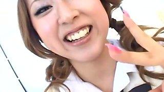 Natsuki Iijima Uncensored Hardcore Video with Swallow, Fetish scenes