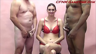 Cfnm game quiz olivia busty milf loves showing off